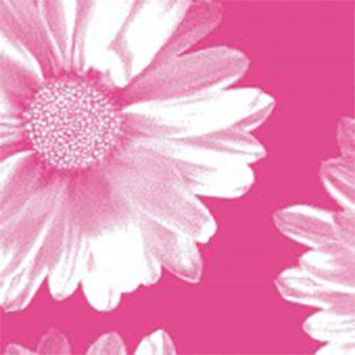 Big Flower Pink Print Tissue Paper Multi Listing 500x750mm