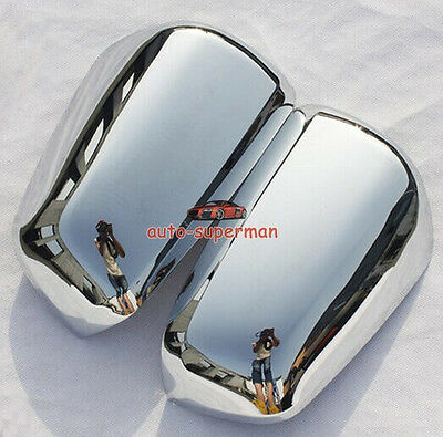 Chrome mirror cover for Mitsubishi lancer sedan 2008-2017