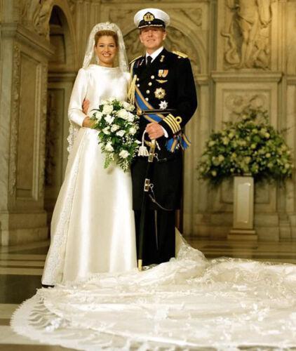 King Willem-Alexander /& Queen Maxima of Netherlands UNSIGNED photograph M5025