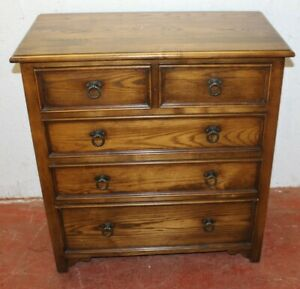 1960s-Small-Oak-Chest-of-Drawers