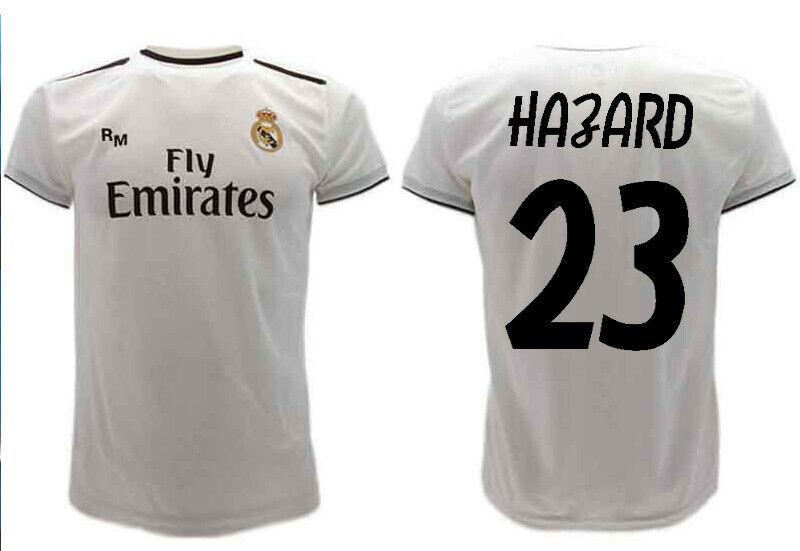 Maglia HAZARD  Ufficiale Real Madrid  2019 EDEN N 23Ptuttione REAL UFF. A SCELTA