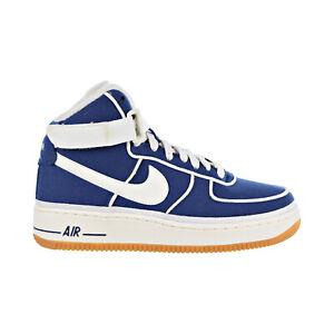 Details about Nike Air Force 1 High LV8 Big Kids' Shoes Binary Blue Sail Black 807617 400
