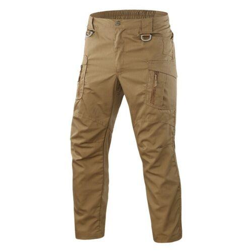 Men/'s Tactical Cargo Randonnée Pantalon outdoor camping militaire airsoft armée Pantalon