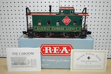 Aristo-Craft REA-42105 Railway Express Agency Caboose Car *G-Scale* #3917