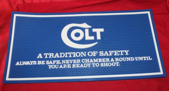 Colt Firearms Factory Counter Mat 1970s