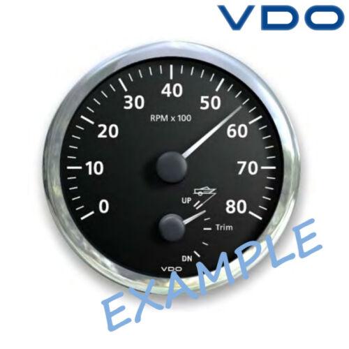 Sonstige Teile VDO Viewline Drehzahlmesser Trim Anzeige 110mm 4 8000 RPM schwarz A2C59514263