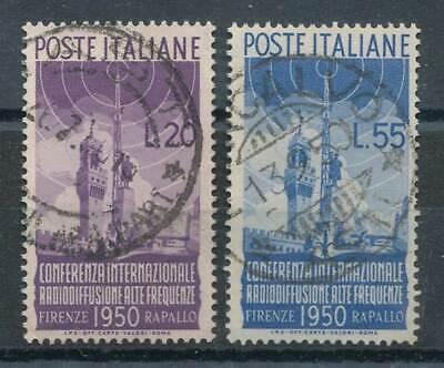 Radiokonferenz Italien Nr.796-797 Gestempelt Int 275025