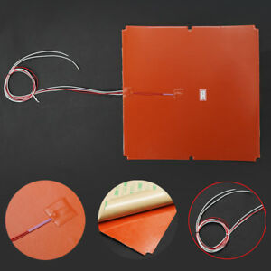 Details about 330x330mm 750W Upgrade Silicone Heater for Tronxy X5S 3D  Printer Heat Bed