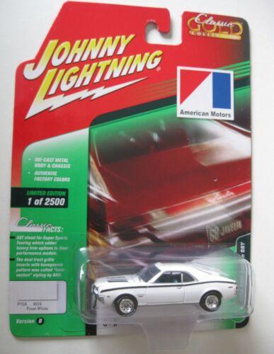 1968 AMC Javelin SST  White *RR* Johnny Lightning Auto World 1:64 OVP