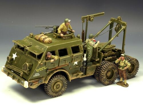 King & Country Soldiers WWII D Day M26 Armoured Recovery Vehicle DD104(SL)