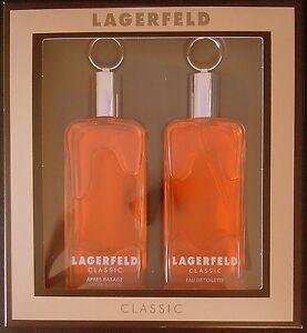 2X SET LAGERFELD Classic 250ml = 2 X 125ml EdT + 250 ml = 2x125ml AS alteVERSION