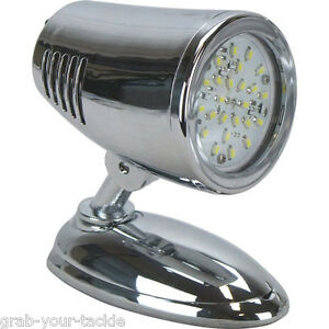 4 X Led Interior Reading Light Lamp 12v 12 Volt L E D Caravan Boat Ebay