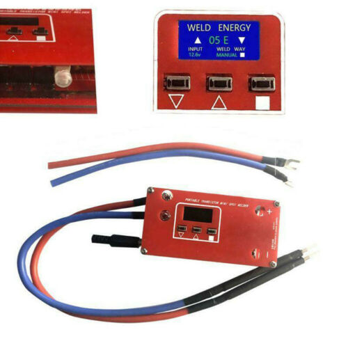Various Welding Power Supply Spot Welder Machine Portable 1 Set Useful