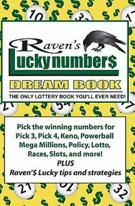 Details about Raven's Lucky Numbers Dream Book : The Only Lottery Book  You'll Ever Need, Pa