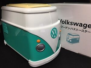 new volkswagen mini bus toaster green vw official limited. Black Bedroom Furniture Sets. Home Design Ideas