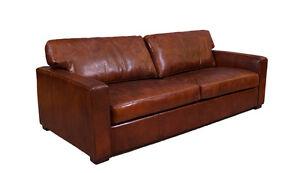 Lounge Sofa Leder : durban sofa 3 sitzer vintage cigar leder m bel stil ~ Watch28wear.com Haus und Dekorationen