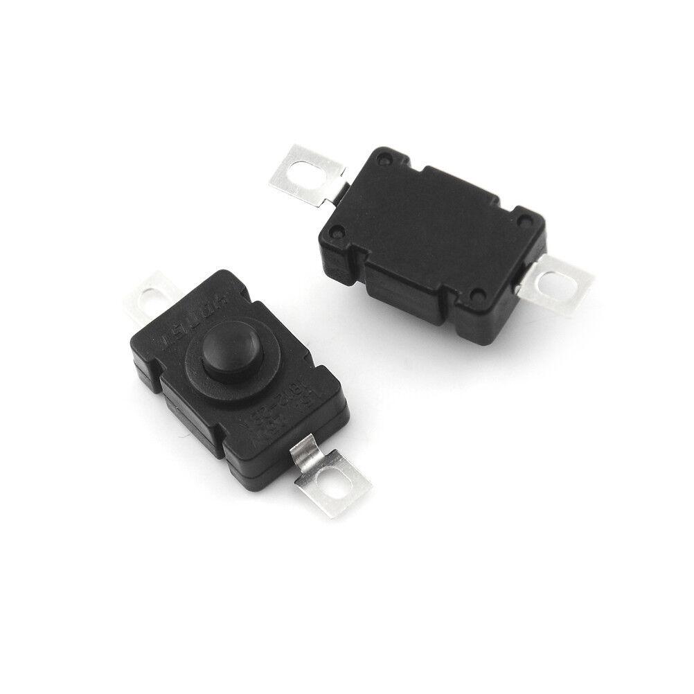 2pcs 8mm Mini Micro 2Pin Metal Waterproof Momentary Push Button SwitchS/&K