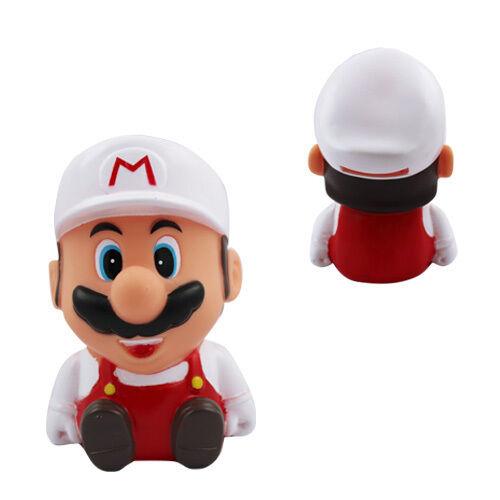 Super Mario Sitting Bros Coin Piggy Money Bank White
