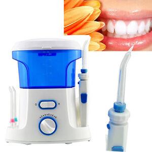 Details about 110V /220V 600ML Dental Oral teeth Water Flosser Flossing set  machine + 7 Tips