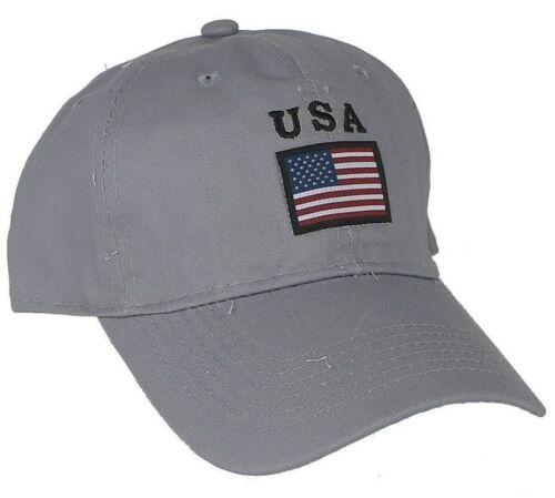 Baseball Cap Hat Adjustable Embroidered USA Flag Logo New