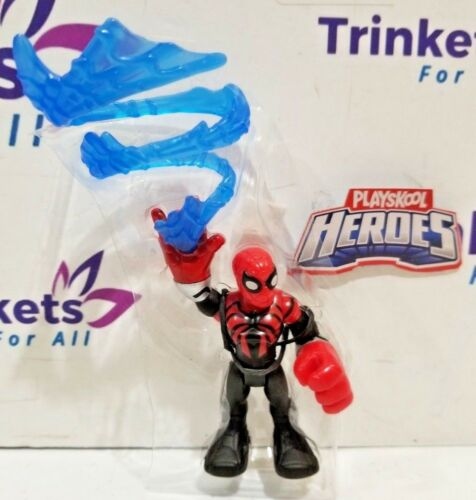 w// Capture Web Playskool Heroes Marvel Super Hero Adventures SPIDERMAN Power Up