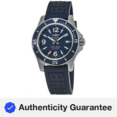 New Breitling Superocean 44 Automatic Blue Dial Men's Watch A17367D81C1S2