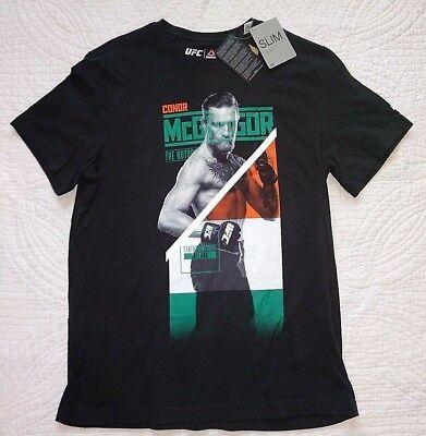 AZ3385 Mens Reebok UFC Conor McGregor Nickname Tee