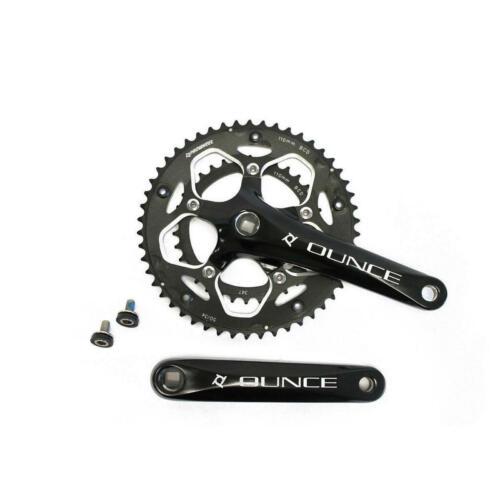 guarnitura perno quadro ounce 34//50 alluminio nera 172,5mm PROWHEEL bici strada