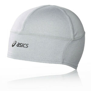 Image is loading Asics-Unisex-Performance-Running-Beanie-Grey-Sports-Warm- 1d78b4d11bf