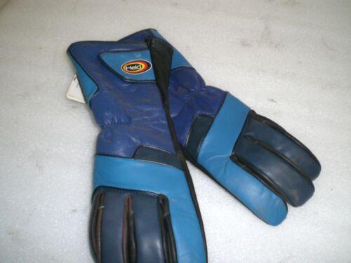 Motorradhandschuhe Held blau  Größe 9