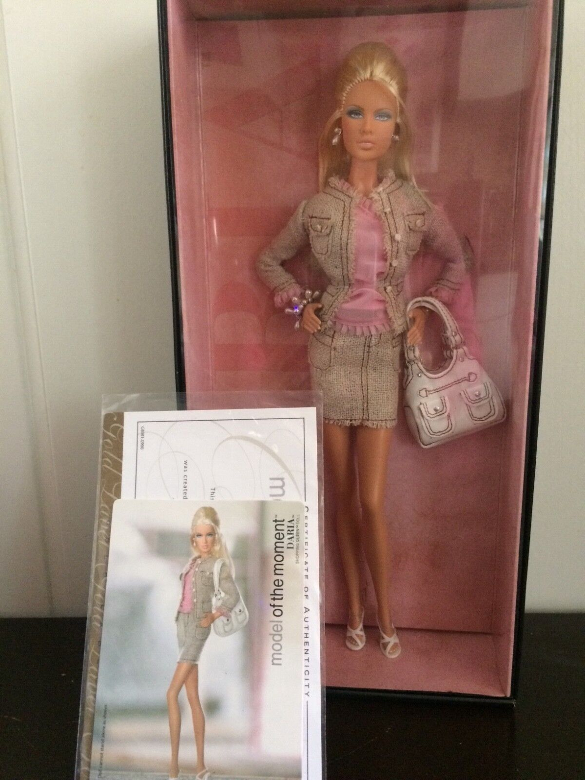 Barbie daria Model of the moment mattel g8081 oro Label