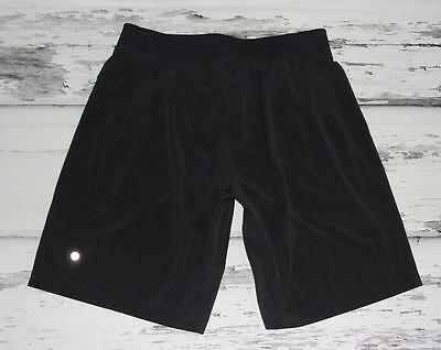LULULEMON~MEN'S~BLACK~LIGHT SWIFT~DRAWSTRING~CASUAL SPORTS RUNNING SHORTS~XL