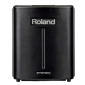 roland ba 330 stereo portable amplifier battery powered digital pa system new 761294410202 ebay. Black Bedroom Furniture Sets. Home Design Ideas