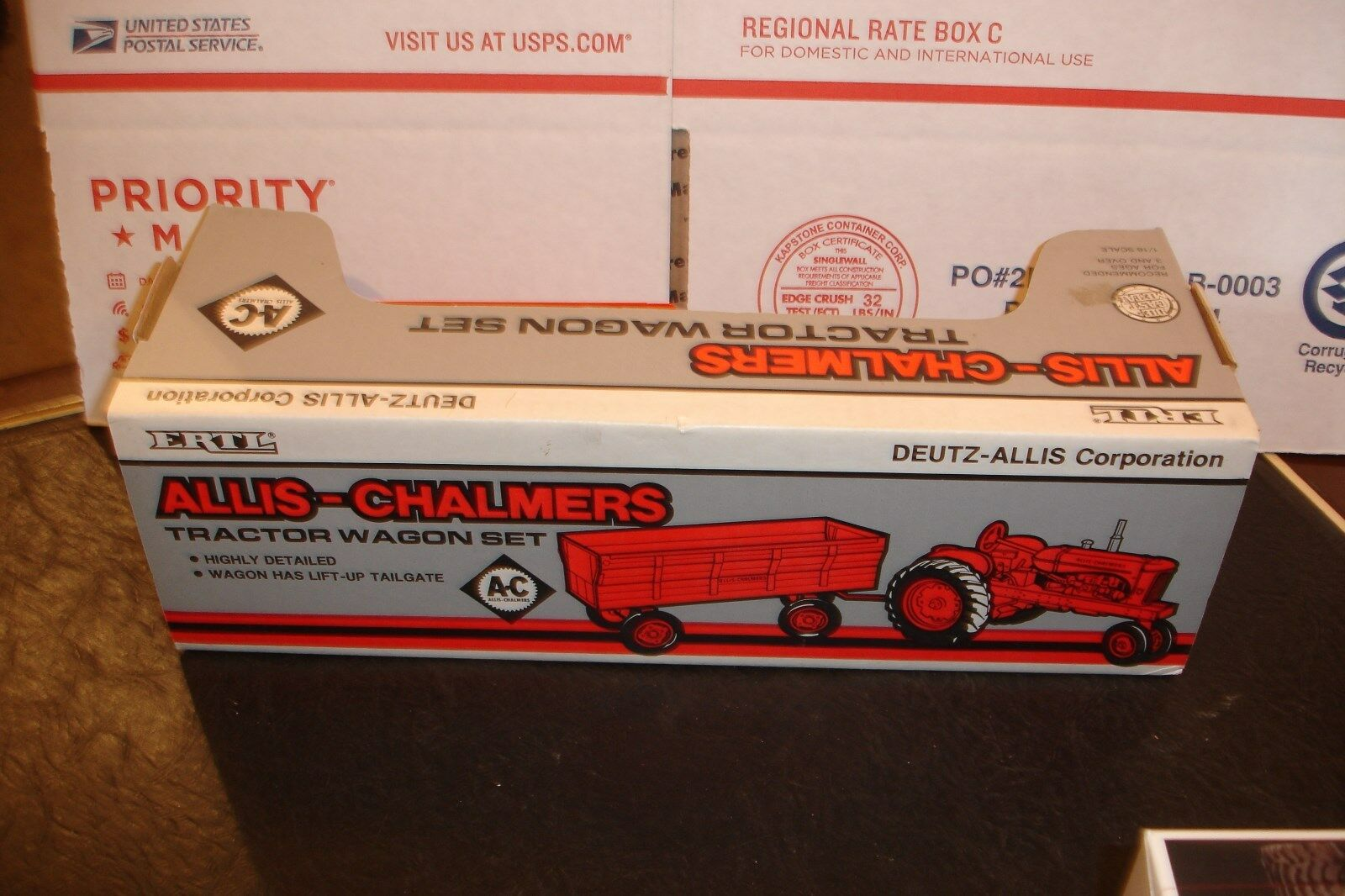 1 16 allis chamer wd 45 with with with wagon new i box 834b75
