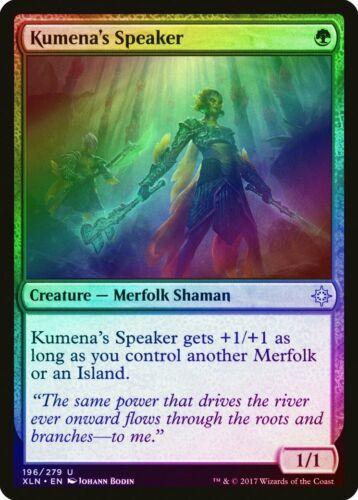 Kumena/'s Speaker FOIL Ixalan NM Green Uncommon MAGIC GATHERING CARD ABUGames
