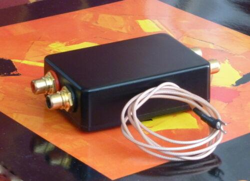 Step Up Transformer SUT 1:15 for MC-Cartridges 0.2-0.6 mV High-End