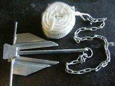 """Poseidon 50997 KIT Slip Ring Anchor 7Lb Rope 3//8/""""x50/' Chain 1//4/""""x4/' Boat 16/'-19/'"""