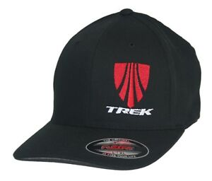 0d9777f7 Details about Trek Hat Flexfit Curved Bill Cap S/M L/XL XL/XXL MTB Mountain  Bike Bicycle