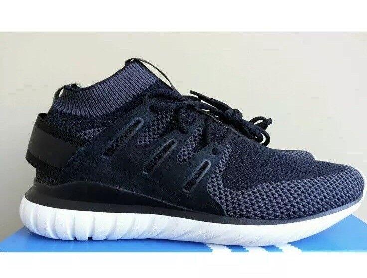 New in box adidas tubuläre nova schwarz primeknit sz 9 s74917 yeezy ultraboost