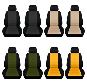 Swell Details About Car Sedan Seat Covers 2013 2017 Ford Fusion Front Seat Black And Color Ab Gmtry Best Dining Table And Chair Ideas Images Gmtryco