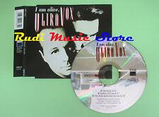 CD singolo ULTRAVOX i am alive 1992 italy DSB DSBCS 163 (S17) no mc lp vhs dvd
