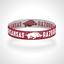 Reversible-Arkansas-Razorbacks-Bracelet-Wristband-Go-Hogs-Bracelet-Woo-Pig-Sooie thumbnail 2