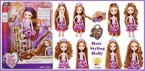 EVER-AFTER-HIGH-Hair-Styling-Holly-O-039-Hair-EAH-Hairstyling-Doll-Beauty-Salon-NEW