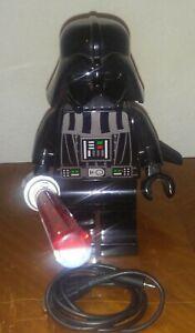 Details About Lego Star Wars Darth Vader Led Desk Lamp Light W Usb Cord