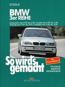 BMW-3er-E46-Reparaturanleitung-So-wirds-gemacht-Etzold-Reparatur-Buch-Handbuch