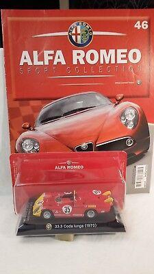 1/43 Alfa Romeo - 33.3 Coda Lunga Fabbri Editore Delizioso Nel Gusto