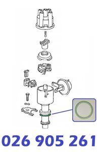 O-Ring-Dichtring-Zuendverteiler-28x43x3mm-AUDI-100-44-44Q-C3-4A-C4-2-3-E