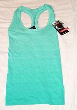 BNWT M&S Ladies Jade Green Santoni Seamfree Ombre Vest Size S RRP £19.50