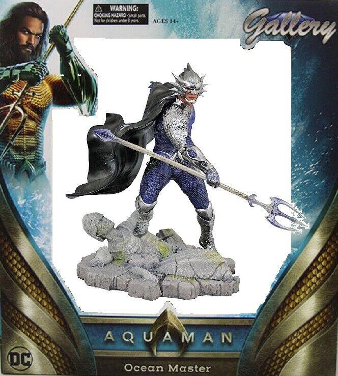 Diamond Select Gallery - Dc Aquaman Océano Master PVC Diorama -   Nuevo Ovp