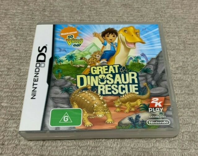 GO DIEGO GO GREAT DINOSAUR RESCUE Nintendo DS VGC